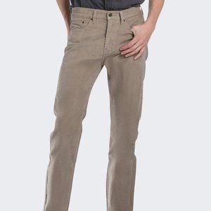 Levi's Tan 505 Straight Fit Cord Jeans-34/32